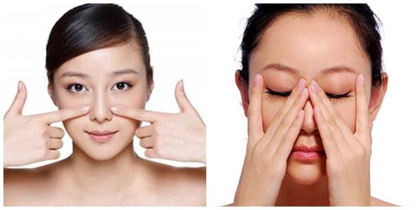 Cách trị mụn đầu đen hiệu quả tại nhà bằng cách massage mặt