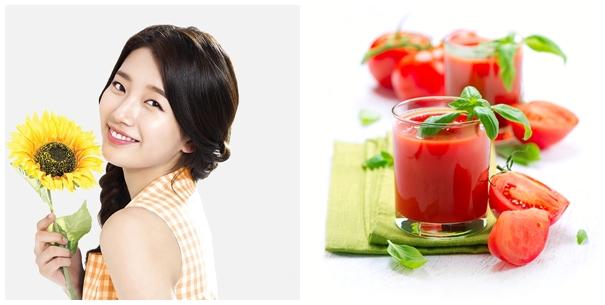 Cà chua là nguyên liệu giúp trị mụn trứng cá hiệu quả