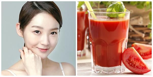 Sử dụng cà chua xay nhuyễn là cách trị mụn đầu đen hiệu quả