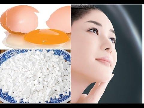 Mặt nạ bột sắn dây trị mụn trứng cá kết hợp với trứng gà