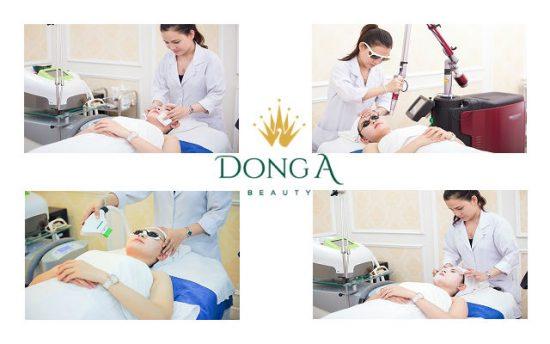 Điều trị mụn theo phác đồ của chuyên gia giúp làm giảm trên 90% mụn, da sáng hồng tự nhiên