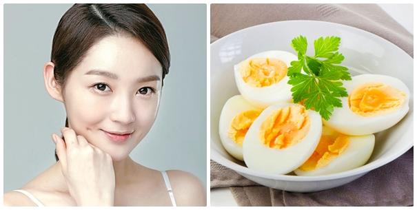 Trứng gà luộc có thể giúp bạn loại bỏ mụn cám