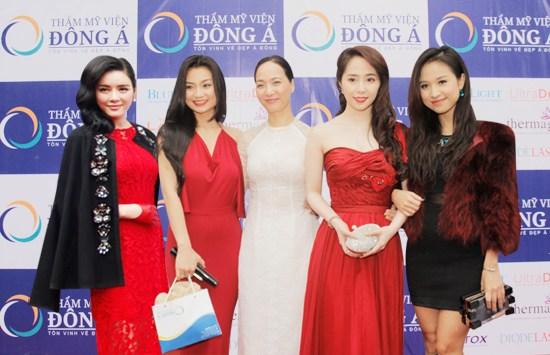 Dàn Sao Việt làm đẹp tại Đông Á