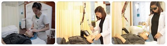 Qúa trình điều trị mụn bằng công nghệ Laser Acne