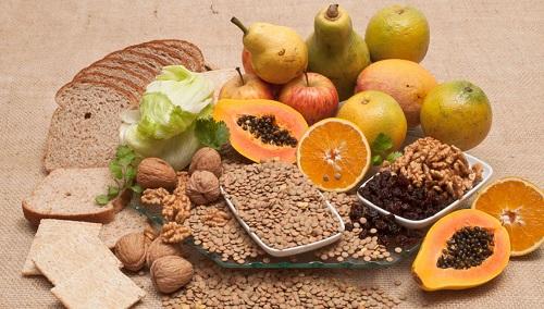 Thực phẩm giàu chất xơ rất tốt trong việc ngăn ngùa mụn